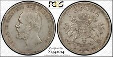 Sweden 1898-E.B.  1 Krona   PCGS cleaning XF details.  KM#535   Nice coin!!