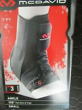 McDavid 195 Ultralight Laced Ankle Brace Support Small Level 3