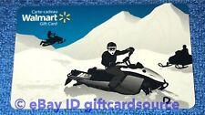 """WALMART CANADA GIFT CARD """"SNOWMOBILE FUN"""" COLLECTIBLE NO VALUE NEW RARE"""