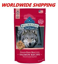 Blue Buffalo Trail Treats Salmon Recipe Dog Snacks 10 Oz WORLDWIDE SHIPPING