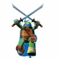 109cm Teenage Mutant Ninja Turtles TMNT Party Leonardo Foil Supershape Balloon