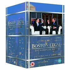 Boston Legal Complete Series Seasons 1-5 1 2 3 4 5 New DVD Collection