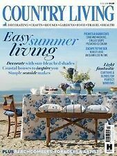 July Country Living Home Magazines in English