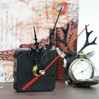 DIY Movimiento con Agujas Cuarzo Ajuga de Reloj Plástico Metal Mecanismo