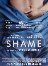 SHAME - FASSBENDER / MULLIGAN / SEX ADDICT - ORIGINAL SMALL FRENCH MOVIE POSTER