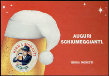 cartolina pubblicitaria PROMOCARD n.3420 BIRRA MORETTI 2003 AUGURI