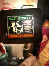 MACK SENNETT Presents Should Husbands Marry (1926) Rare Glass Slide