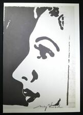 "Andy Warhol, Hand Signed Special Print ""After I"", with COA.  (Cosmetic Surgery)"