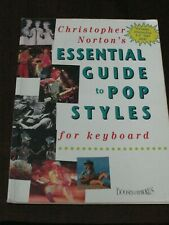 ESSENTIAL GUIDE TO POP STYLES CHRISTOPHER NORTON MUSIC INSTRUCTION PIANO