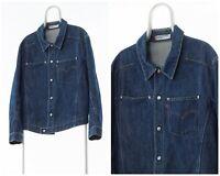 Vintage Mens LEVIS Engineered Denim Jeans Jacket Blue Size XS