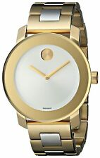 Movado Women's 3600129 'Bold' Two-Tone Stainless Steel Watch