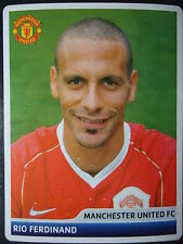 Panini 60 Rio Ferdinand Manchester United UEFA CL 2006/07