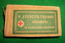 ITALIE WW2 - PETIT EQUIPEMENT - PANSEMENT INDIVIDUEL