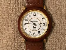 Women's Vintage Gloria Vanderbilt Watch - Gold Tone / Leather Band