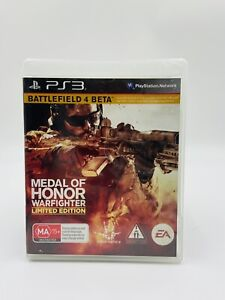 Medal Of Honor Warfighter Ps3 PS3 Playstation 3 Game Rare & Collectable