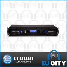 Crown XLS1002 2-Channel Digital Power Amplifier - Black