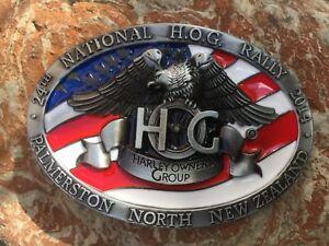 Gürtelschnalle National H.O.G. Rally Buckle Harley Davidson 395