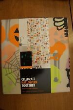 NEW Halloween Boo Shower Curtain Glow in the Dark PEVA 70 x 70