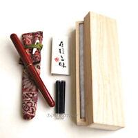 Kyoto Kiyamati Makie FUDEPEN Hand painted Yuzen dye since 1855