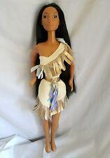 "18"" Disney Pocahontas doll vintage mattel fashion doll"