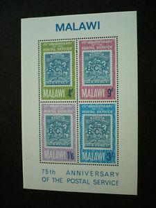Stamps - Malawi - Scott# 57a - Souvenir Sheet