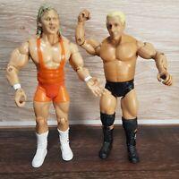 WWE WWF Ric Flair (2003) & Mr Perfect (2003) a WRESTLING Figures Jakks