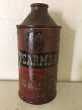 Rare Spearman Straight Eight Irtp Cone Top Pensacola Florida Beer Can