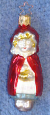1993 Merck Family'S Old World Christmas Ornament #1053 Red Riding Hood - W/Star
