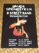 Bruce Springsteen - Australian Tour March 2013  -  Laminated Promo Poster