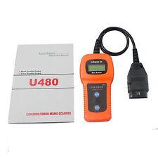 U480 Any car OBD2 EOBD CAN BUS Fault Code Diagnostic Reader Scanner tool UK