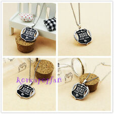 EXO XOXO FIRST YEAR WOLF GROWL KRIS LUHAN SEHUN TAO KPOP ALLOY Necklace NEW