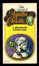 CHRISTIE AGATHA IL MISTERIOSO SIGNOR QUIN MONDADORI 1982 TUTTI RACCONTI 13