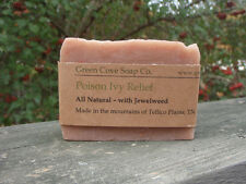 Poison Ivy Itch Relief Soap 4 oz Natural Jewelweed Soap Green Cove Soap Handmade