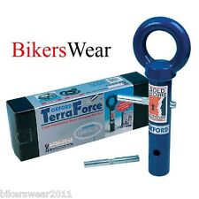OXFORD Terra Force Blue Ground Motorcycle Anchor Fits All Oxford Chains