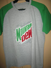 Mountain Dew  soda T- Shirt- medium