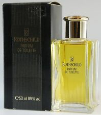 (79,90eur/100ml) Rothschild-for women 50ml PARFUM DE TOILETTE SPLASH NUOVO OVP