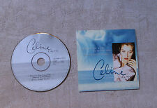 """CÉLINE DION """"BECAUSE YOU LOVED ME (THEME FROM """"UP CLOSE & PERSONAL)"""" CDS 1996 2T"""