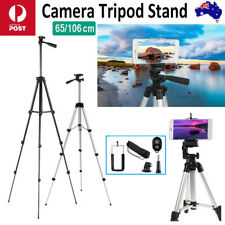 Universal Telescopic Camera Tripod Stand Holder Mount For iPhone Xs Max Samsung