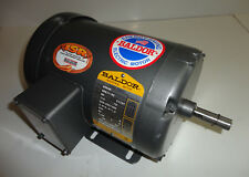 Baldor M3536 Electric Motor 1/3 HP 850 RPM 3 Ph Fr 56