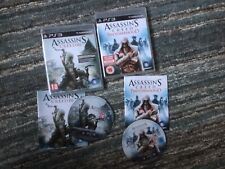 Assassin's Creed - Brotherhood & Assassins Creed III - PS3 - Complete - 2 Games