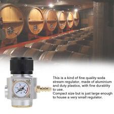 Sodastream CO2 Regulator CO2 Charger Kit 0-90 PSI Soda Stream Beer Keg Charger