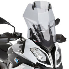 BMW S 1000 XR 2015-2018 Puig Light Tint Touring Wind Screen With Visor S1000