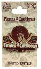 Disney D23 Expo 2017 EXCLUSIVE: Pirates of the Caribbean 50 Years Pin - LE 1000