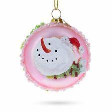 Macarons Glass Christmas Ornament