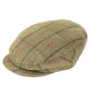 Failsworth Hats James Flat Cap with Extended Peak - 1185 Pattern