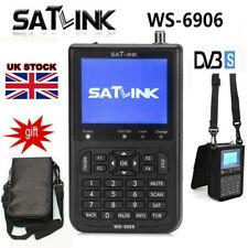 More details for 3.5 inch satlink ws-6906 satellite tv signal finder receiver detector fta lcd uk