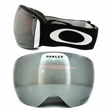 Oakley Ski Neige Lunettes Flight Deck OO7050-01 Noir Mat Prizm Iridium Noir