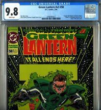 PRIMO:  GREEN LANTERN #50 1st Kyle Rayner NM/MT 9.8 CGC glow cover '94 DC comics