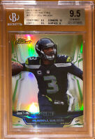 2014 Russell Wilson TOPPS FINEST GOLD REFRACTOR /75 25 BGS 9.5,10 sub PSA prizm