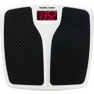 Health O Meter Digital Bathroom Scale, 350 lb Capacity LED Weight scale NEW